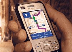navigacija za mobilni telefon