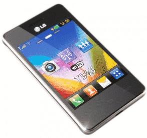 LG T385 dekodiranje