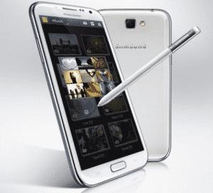 Samsung Galaxy Note 2 dekodiranje